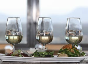 Esca Bimbadgen Tasting Plate White wine
