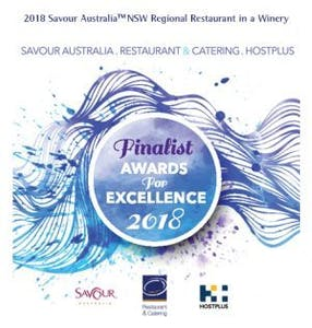 Savour Australia Finalist 2018 Restaurant in a Winery - Regional NSW