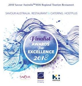 Savour Australia Finalist 2018 Tourism Restaurant - Regional NSW