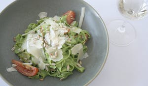 Spinach Fettuccini