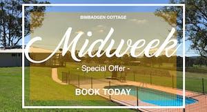 Bimbadgen Cottage MidweekPromo