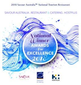Esca Bimbadgen 2018 National Tourism Restaurant