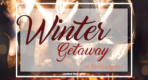 Winter Getaway at Bimbadgen